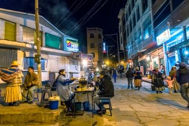 En Bolivia se come practicamente en cualquier lado y por muy poco dinero.